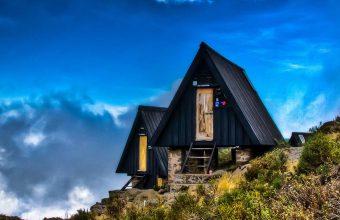 Marangu huts top